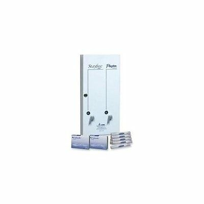 "Rmc Dual Sanitary Dispenser - Pull Out - 24"" X 10.75"" X 5.5"" - Metal - White"