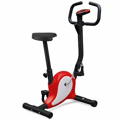 Fintess Exercise Bike Gym Cardio Aerobic Cycling Trainer Machine Workout Indoor