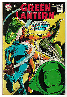 DC Comics GREEN LANTERN Issue 62 My Power Ring Or My Life! VG