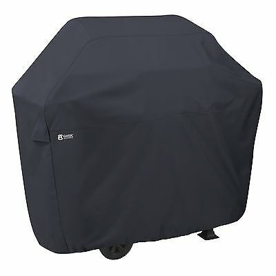 Classic Accessories Black Grill Cover - Supports Grill - Ventilated, Water