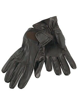 Deerhunter leather hunting gloves
