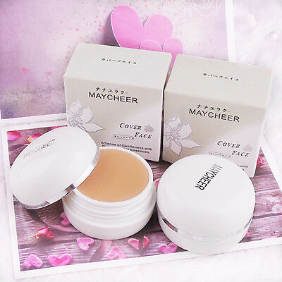 Concealer Foundation Cream Cover Black Eyes Acne Scars Makeup Natural Beauty