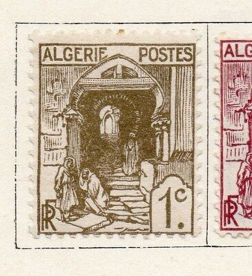 Algeria 1926-27 Early Issue Fine Mint Hinged 1c. 097310