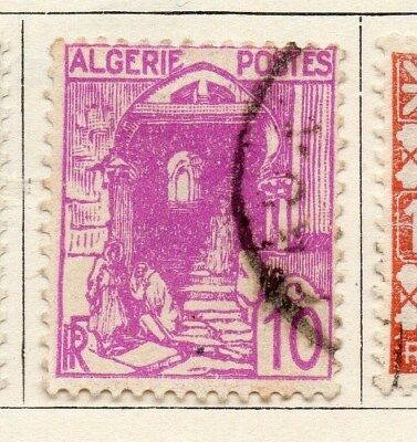 Algeria 1926-27 Early Issue Fine Used 10c. 097314
