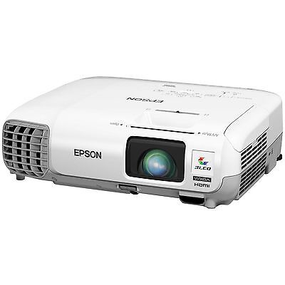 Epson Powerlite 99wh Lcd Projector - Hdtv - 16:10 - Front, Rear, Ceiling - Uhe -