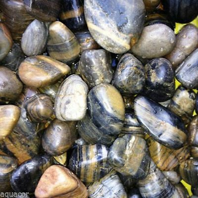 12.5Kg Beatiful Polished River Pebbles For Fish Tank or Pond or Garden