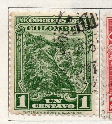 Colombia 1932 Air Stamp Issue Fine Used 1c. 097581