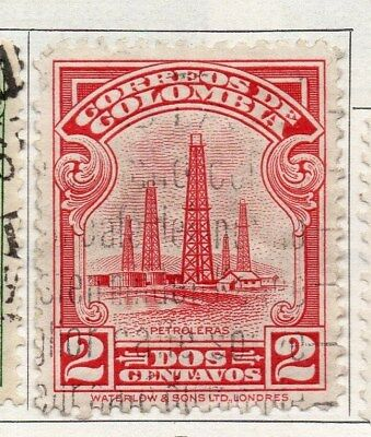 Colombia 1932 Air Stamp Issue Fine Used 2c. 097582