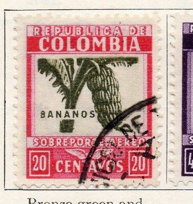 Colombia 1932 Air Stamp Issue Fine Used 20c. 097593