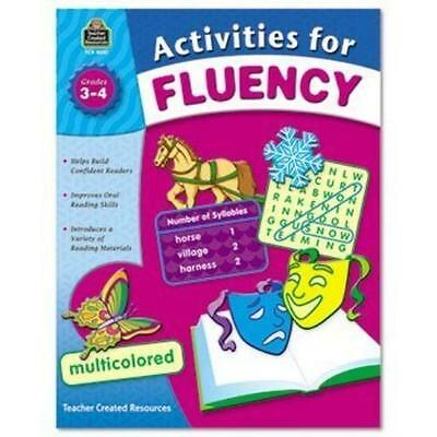 Teacher Created Resources Activities For Fluency Activity Printed Book - English