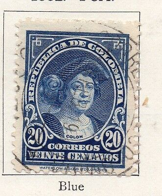 Colombia 1932 Early Issue Fine Used 20c. 097599