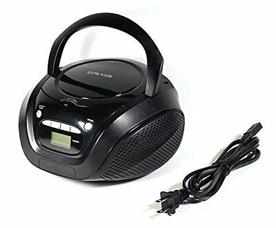 Craig Electronics CD6923 Craig Cd6923 Cd Boombox With Am Fm Radio