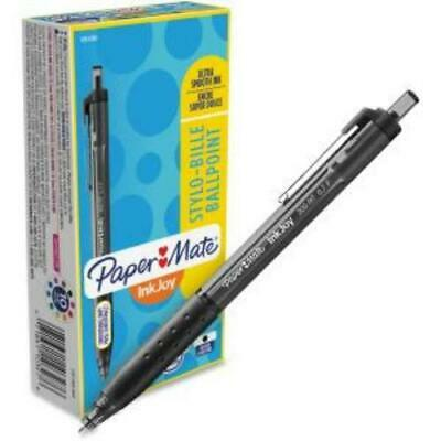 Paper Mate Inkjoy 300 Rt Ballpoint Pens - 0.7 Mm Point Size - Black Ink - Black