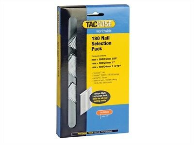 Tacwise 0205 180 18 Gauge Nail Selection Pack 4000