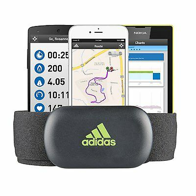 adidas miCoach Pulse Heart Rate Monitor wireless bluetooth for iPhone Android