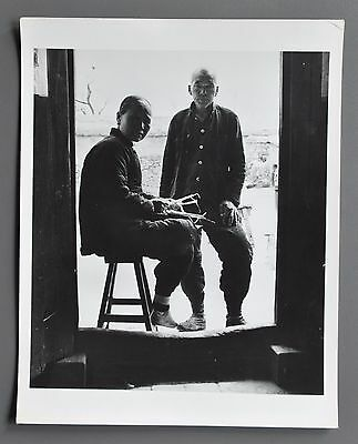 Dmitri Kessel Vintage Silver Gelatin Photo 20x25cm China We two form a multitude