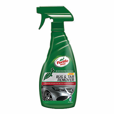 Turtle Wax Bug & Tar Tree Sap Remover All Surface Car Cleaner Spray 500ml