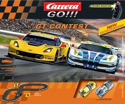 NEW Carrera GO GT Contest Slot Set from Mr Toys