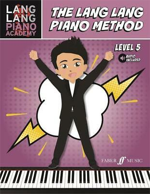 Lang Lang Piano Method, Level 5, Sheet Music Tutor Book, Learn How To Play Piano