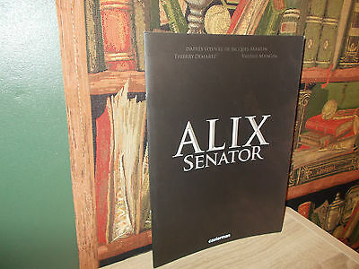 Alix-Senator-Album promotionnel 2012.-Casterman