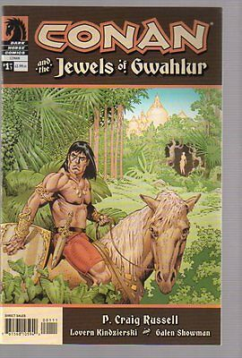 CONAN AND JEWELS OF GWAHLUR #1-3 NEAR MINT COMPLETE SET 2005 DARK HORSE #nb-0367