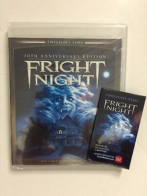 Fright Night (1985, Blu-ray Disc) Limited Edition 5,000 Brand NEW 30th Anniv