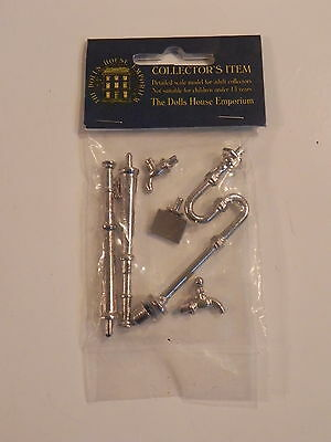 THE DOLLS HOUSE EMPORIUM 1/12 5861 PIPEWORK & TAPS FOR SINK robinet kit metal