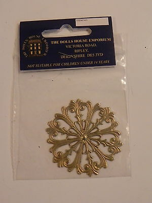 THE DOLLS HOUSE EMPORIUM 1/12 3948 METAL CELLING ROSE ROSACE metal