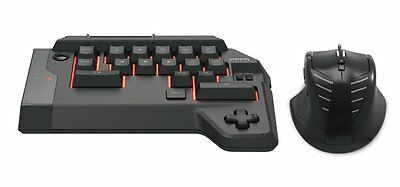 NEW HORI TAC 4 Tactical Assault Commander Mouse & Keyboard for PS4 & PS3