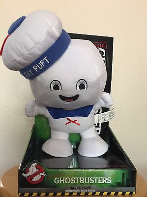 Ghostbusters Stay Puft Marshmallow Man - Talking Plush - 12''