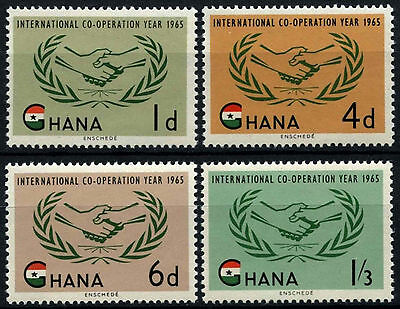 Ghana 1965 ICY International Co-operation Year MNH