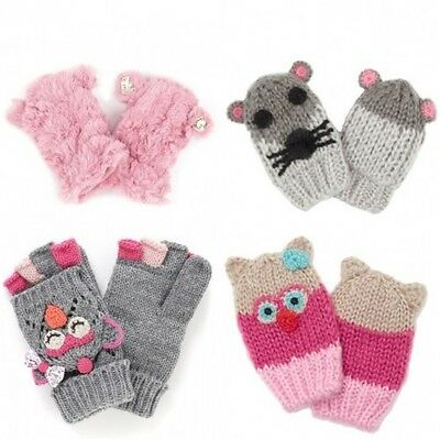 Baby & Girls New Ex Monsoon/Accessorize Mittens/Gloves -  Ages 0m-13y