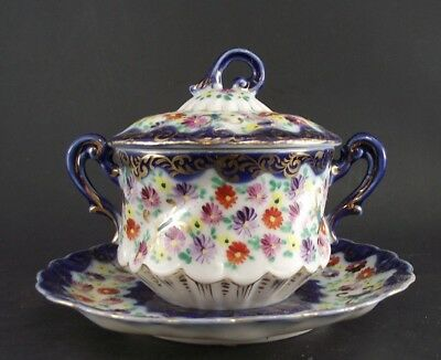 Royal Nippon Covered Sugar Bowl Unmarked