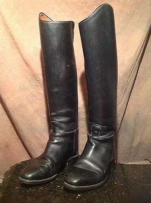 Ariat Dressage Dress Boots Equestrian Womans 8.0 need polish  light use.