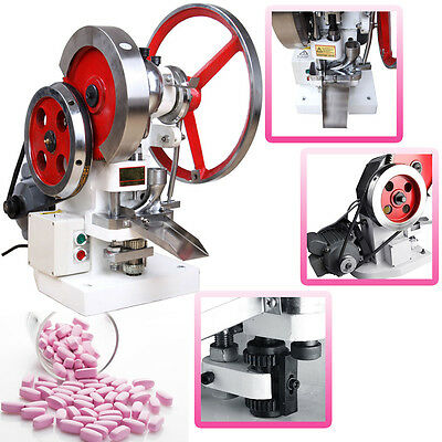 Automatic Single Punch Tablet Press Pill Making Machine Maker TDP-5 New