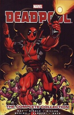 Deadpool The Complete Collection volume 1 trade paperback Marvel Comics