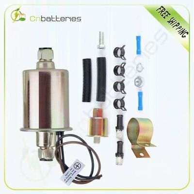 New Universal Electric Fuel Pump With Installation Kit E8012S