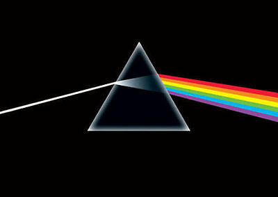 DARK SIDE OF THE MOON PRISM POSTER (61x91cm) PINK FLOYD NEW WALL ART