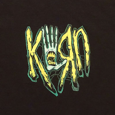 2001 Korn T-Shirt Tee from Family Values Year Size Large Graphics on Both Sides