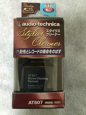 audio-technica AT607 Record Player, Turntable Stylus Cleaner ship Japan