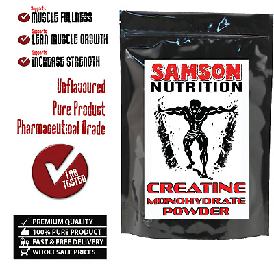 1Kg Pure Creatine Micronised Monohydrate Powder Unflavoured Samson Nutrition