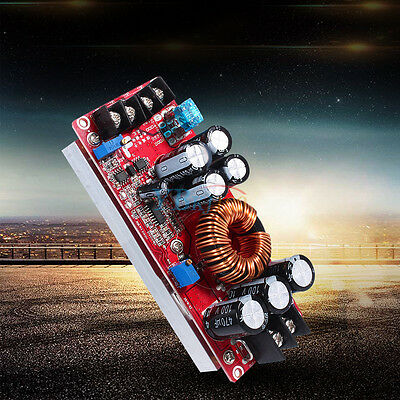 New 1200W DC Converter Boost Step-up Power Module 10-60V to 12-83V Booster Board