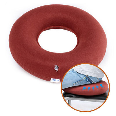 Airbag Inflatable Ring Donut Dry Medical Cushion Prevent  HEMORRHOIDS Seat Pump