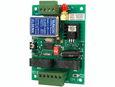 ELSEMA GIGALINK GLR43302 433.92Mhz 2 CHANNEL RECEIVER