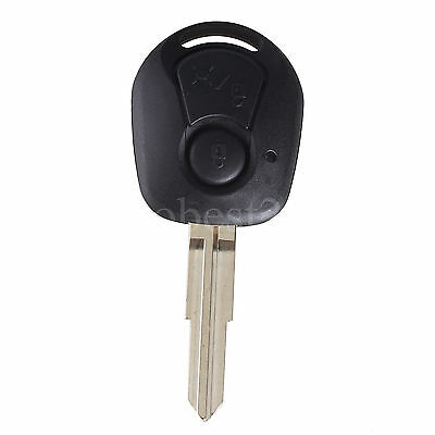Remote Key Shell Fit for SSANGYONG Actyon Kyron Rexton Case Cover Fob 2 Buttons