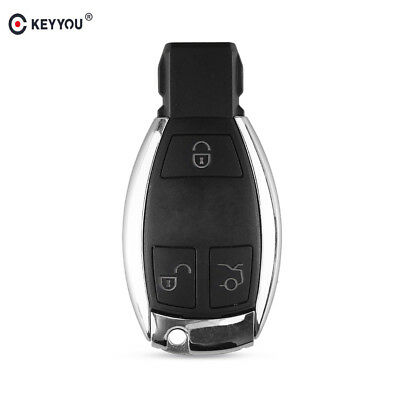 Remote Key Shell Case 3 Button for Mercedes Benz C E G R S Class CLK CLS SLK