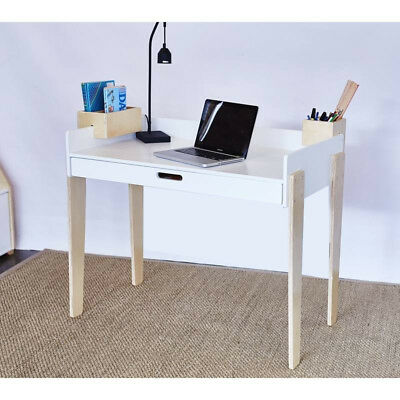 Hip Kids Benji Study Computer Table Desk Large Drawer Bedroom Furniture