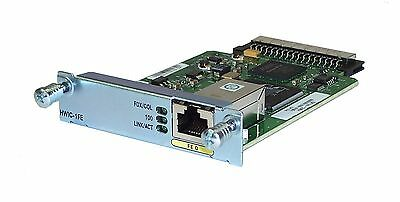 Cisco HWIC-1FE 1-Port Fast Ethernet High-Speed WIC for Integrated Service Router