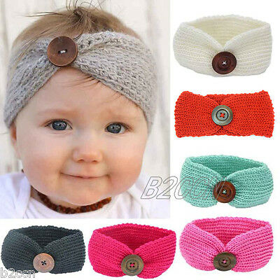 Infant Toddler Baby Girl Knited Headband Newborn Hair Band Kids Hair Accessories