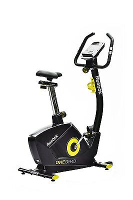 Fitness Bike Reebok One Series Heimtrainer GB 40 schwarz belastbar bis 110 kg